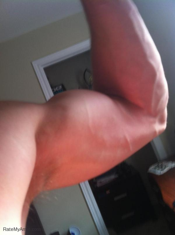 16 year old bicep